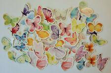 Schmetterlinge 46er Set Tiere basteln Kinder Aufkleber Sticker Insekten