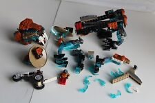 LEGO SET LEGENDS OF CHIMA 70143 SIR FANGARS SABER TOOTH WALKER FOR CUSTOM PARTS
