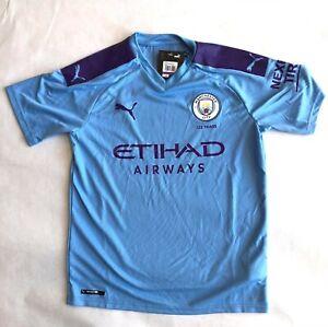 Manchester City 2019/20 Puma Home Kit Youth XXL Jersey Shirt NEW