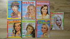 7 Zeitschriften Meine heimlichen Träume, Geheimnis, Erlebnis, Gefühle etc