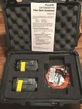 Fluke DSP-FOM/DSP-FTK Fiber Optic Meter Accessory Test Kit 850/1300 Nm  NEW!!!