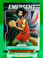 COBY WHITE PANINI PRIZM ROOKIE CARD JERSEY #0 CHICAGO BULLS SP RC 2019-20 Prizm