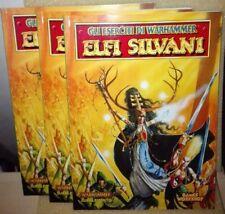 WARHAMMER FANTASY MANUALE ELFI SILVANI SUPPLEMENTO GAMES WORKSHOP CITADEL NUOVO