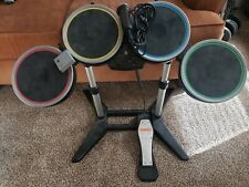Rock Band PS3 Wireless Drum Set Dongle and Mic