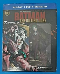 DC Batman The Killing Joke Bluray Limited Edition Gift set With Figurine New