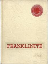1955 FRANKLIN SCHOOL CLASS YEARBOOK, THE FRANLINITE, 18 W 89 TH ST, NEW YORK, NY