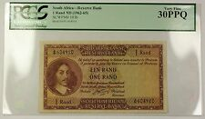 (1962-65) No Date South Africa 1 Rand Bank Note SCWPM# 103b PCGS VF-30 PPQ