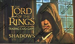 Lord Of The Rings TCG Shadows Factory Sealed Trading Card Booster Box 36 Packs