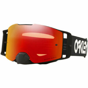 NEW 2021 OAKLEY FRONT LINE GOGGLES FACTORY PILOT BLACK PRIZM TORCH IRIDIUM LENS