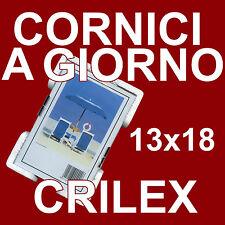 CORNICI A GIORNO 13x18 cm. ACRILICO INFRANGIBILE CORNICE A GIORNO PORTA FOTO