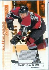Markus Naslund - 03 04 ITG Action - Spring Expo - Jersey - Gold - Serial # 1/1
