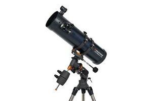 Celestron Astromaster 130EQ Motor Drive Reflector Telescope, MPN 31051-CGL
