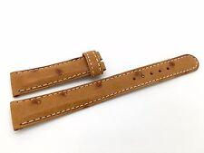 Brand new Rolex Brown Ostrich Band Strap
