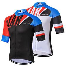 Weimostar Racing Bike Pro Men's Bicycle Half Sleeve Cycling Jersey Shirts S-3XL