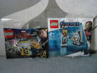 Lego Marvel - 30452 Iron Man And Dum-E +30453 Captain Nick Fury Enlisting