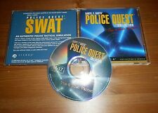 DARYL F GATES POLICE QUEST COLLECTION PC CD ROM GAME DISC IN MINT CONDITION