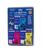 Set Of 3 LC-57 - Brother Genuine LC57 LC-57CL3PK For DCP 130C 150C 350C 540CN