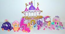 My Little Pony Equestria Wedding Castle Train Airplane Spike Dragon Lot