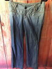 F & S Women's Ombre Bling Blue Jeans Size Large
