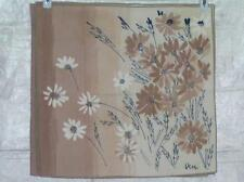 Vera Neumann Field of Daisies Graduated Taupe Napkins 6/set