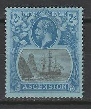 ASCENSION 1924 KGV SHIP 2/-
