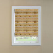 Levolor Woven Wood Shade Cinnamon Bamboo 60-in Act 59.5-in x 60-in 0253204