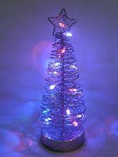 25cm light up christmas fil arbre table centre décoration avec lumières led-chris