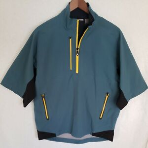 Mens Dryjoys Footjoy Tour XP 1/4 Zip Windbreaker Jacket Waterproof Small Rain