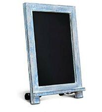 """Blue Wood Tabletop Chalkboard 9.5""""x14"""""""