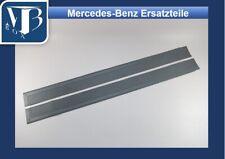 Mercedes-Benz W107 R107 280SL Pair Rubber Door Sill Mats - Grey NEW