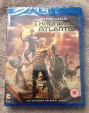 JUSTICE LEAGUE - THRONE OF ATLANTIS - DC UNIVERSE ORIGINAL MOVIE - BLU RAY - NEW