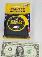 Wow! 1 - 40' Stanley Fatmax Tape Measure # 33-740