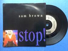 Sam Brown-Stop/Blue Soldier, a&m AM-440 EX-ETAT