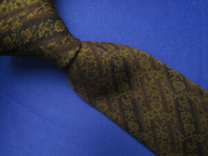 Elkins by Berkley Brown Skinny Wool Vintage 1940-1950 Tie Hand Made A6187