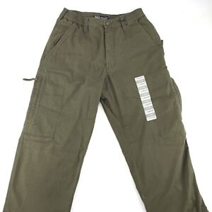 5.11 Tactical Covert Cargo Pants Khaki Olive Drab Green Tundra Size W28 L32