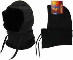 Showerproof Thermal Balaclava Fleece 3.5 Tog Neck Warmer Snood Scarf Hat Cap