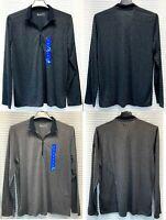 Under Armour 1322027 Men's UA Threadborne Siro 1/2 Zip Long Sleeve Shirt  - NWT