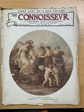 """JAN 1918 """"THE CONNOISSEUR MAGAZINE"""" ANTIQUES & ART COLLECTORS MAGAZINE (P3)"""