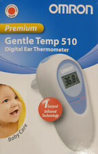 Omron Ear Thermometer Fever Baby Children + Extension