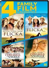 Flicka / Flicka 2 / Cowgirls 'n Angels / Cowgirls 'n Angels 2 Quad Feature (DVD)