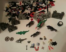 Lego Castle Knights Minifigure Green Dragon Horses 6076 9376 lot misc pieces