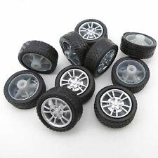 10PCS 16mm*6mm*1.9mm Rubber Black Toy Wheels Robot Tires Model Diy New