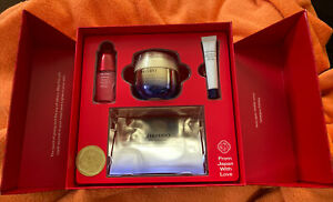 Shiseido 4 Piece Vital Perfection Uplifting Treasures Gift Set $135 NEW