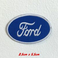 Ford Automobile Motorsports logo badge Embroidered Iron Sew on Patch #1559