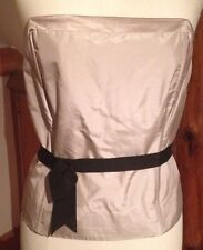Fenn Wright Manson Ladies Corset Top/New & Tags/Bandeau/Size 16/Occasion/Silk