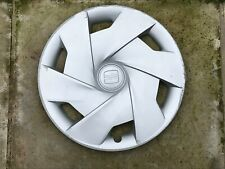 "SEAT IBIZA 15"" WHEEL TRIM X 1 HUB CAP GENUINE 6J0601147C CLIP ON TYPE"