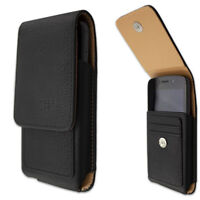 caseroxx Outdoor Case for Doogee S40 / S40 Lite in black made of real leather