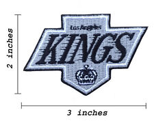 Los Angeles Kings Logo Embroidered Iron On Patch.