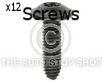 Panel Screw Wing and Bumper Renault Trafic//Vel Satis etc Pack of 12 Part 11568re