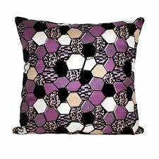 "Velvet Decorative Cushions 18x18"" Size"